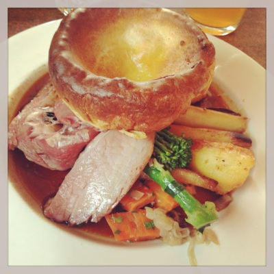 Roast Beef at The Bull and Last