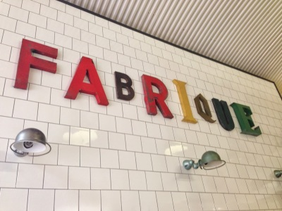 Fabrique Bakery in Hoxton