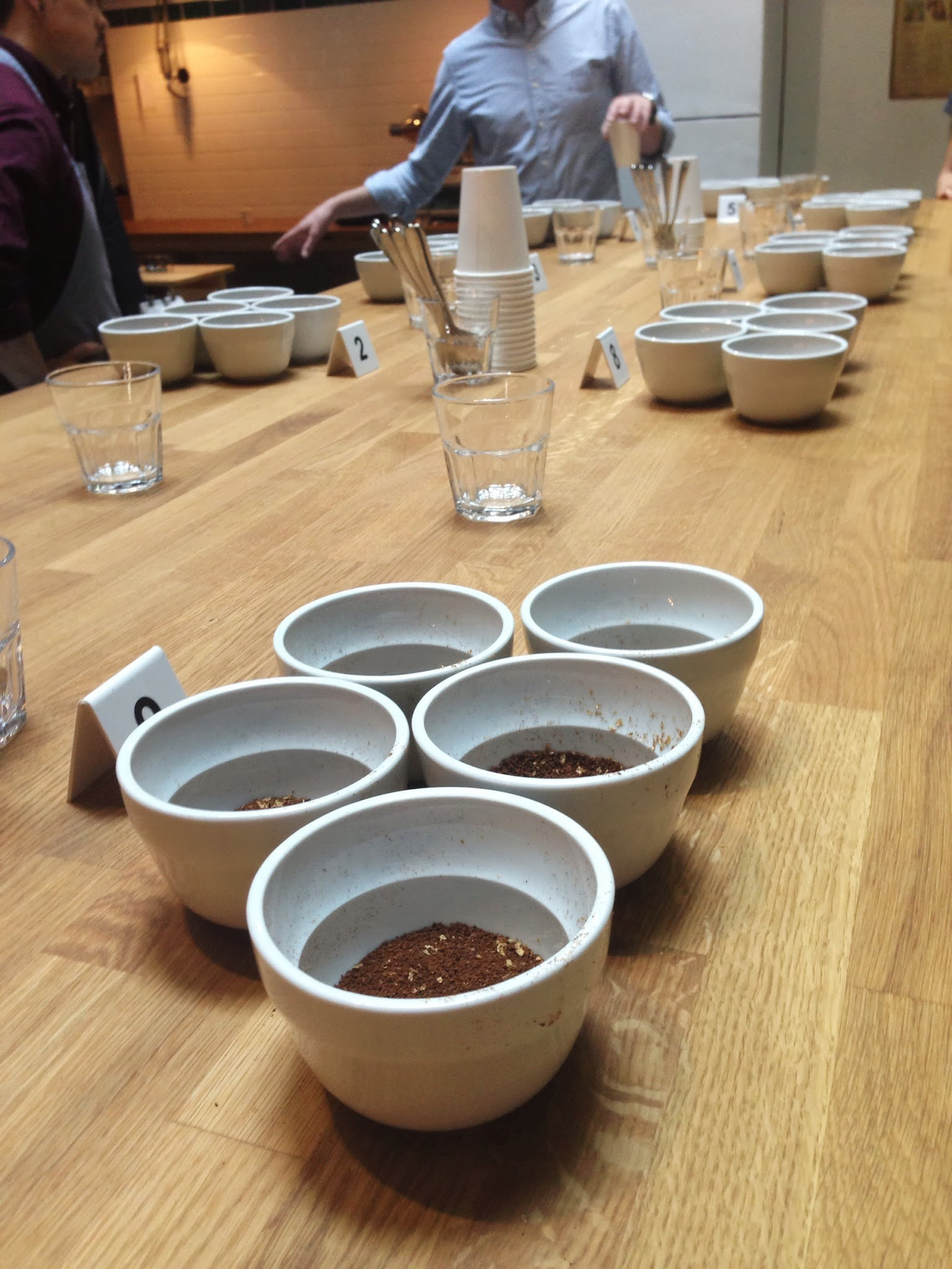 Coffee Cupping at Workshop The Very Hungry Londoner