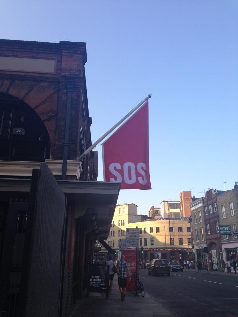 SOS - Smiths, Spitalfields