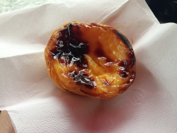 Portuguese custard tart from Lisboa Patisserie