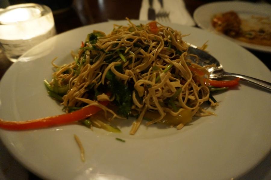 Noodles at Shanghai Moon supper club