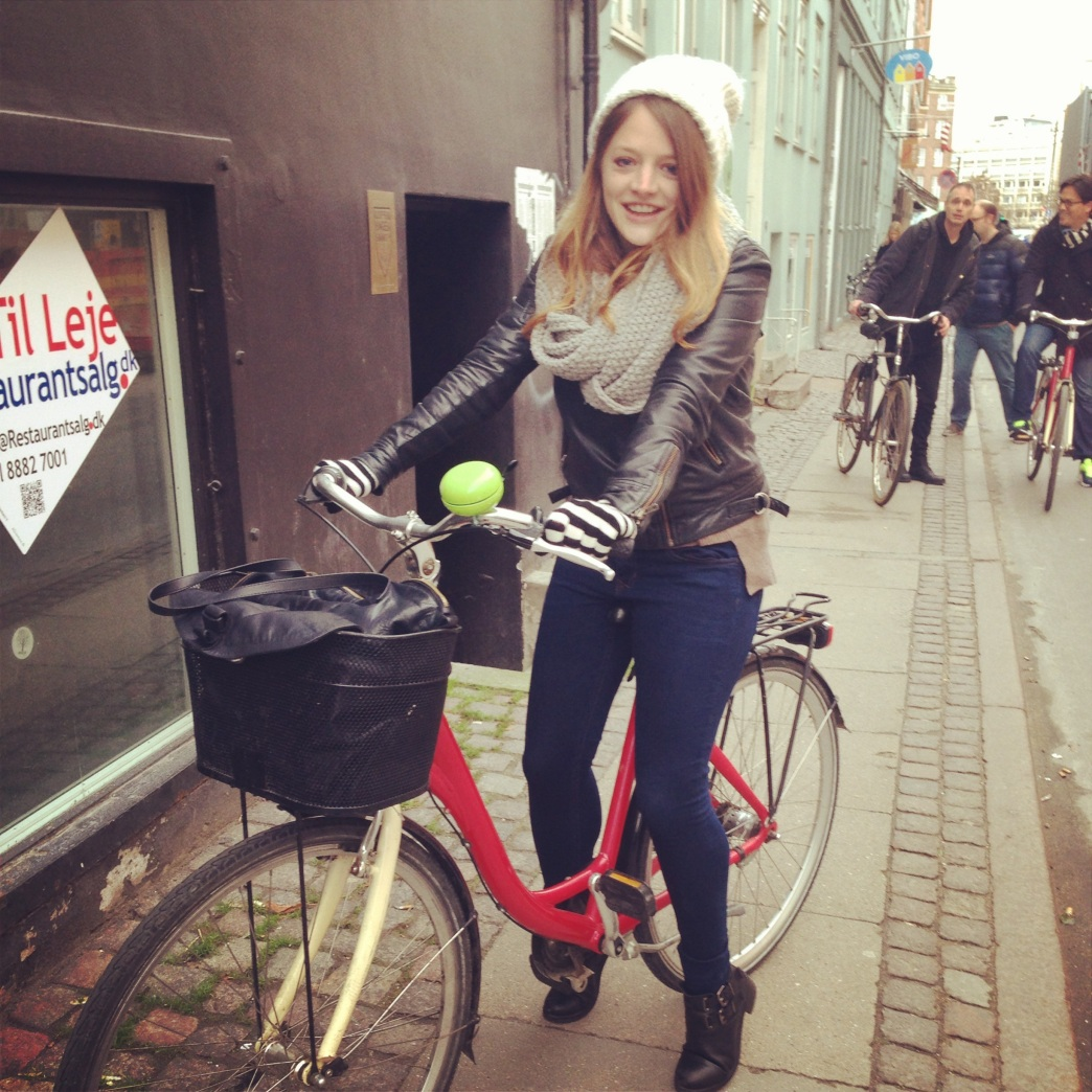 Me, on Bike with Mike tour, Copenhagen