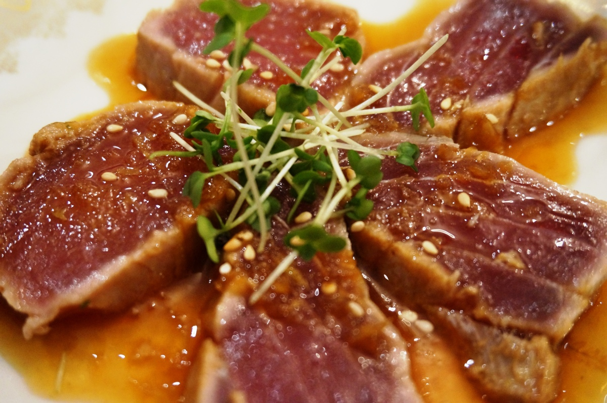 Tuna takai at The London Foodie's Japanese supper club