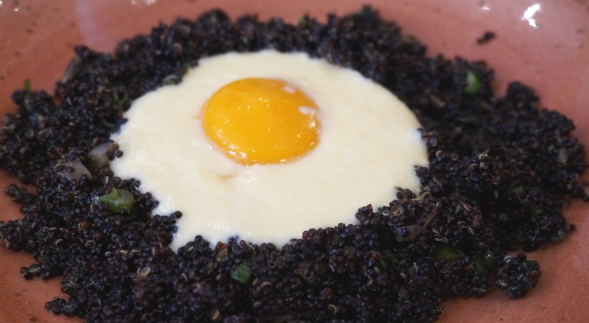 Roasted Black Quinoa at Lima Floral
