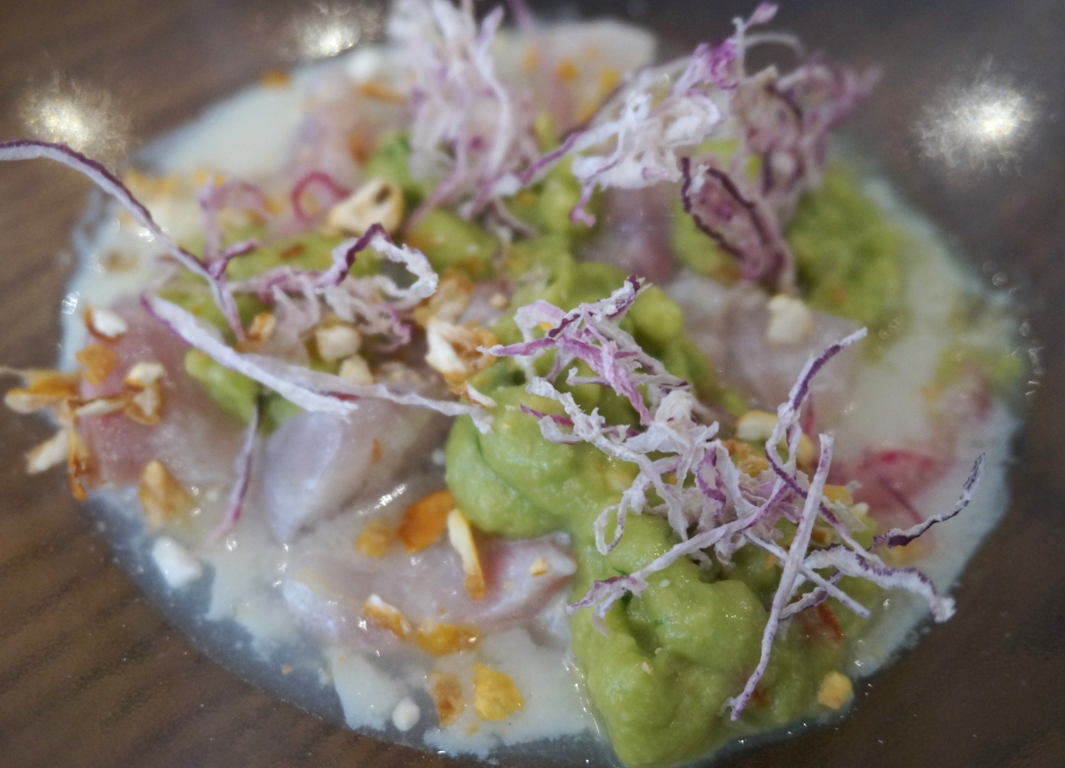 Sea Bream Ceviche at Lima Floral
